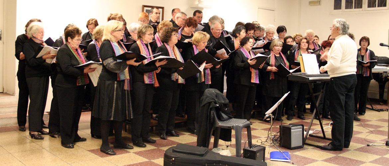Chorale : le chœur de la Roche