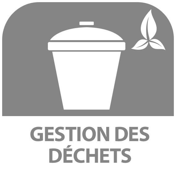 Icône : Gestion des déchets