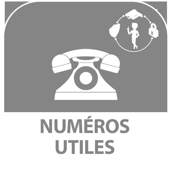 Icône : Numéros utiles