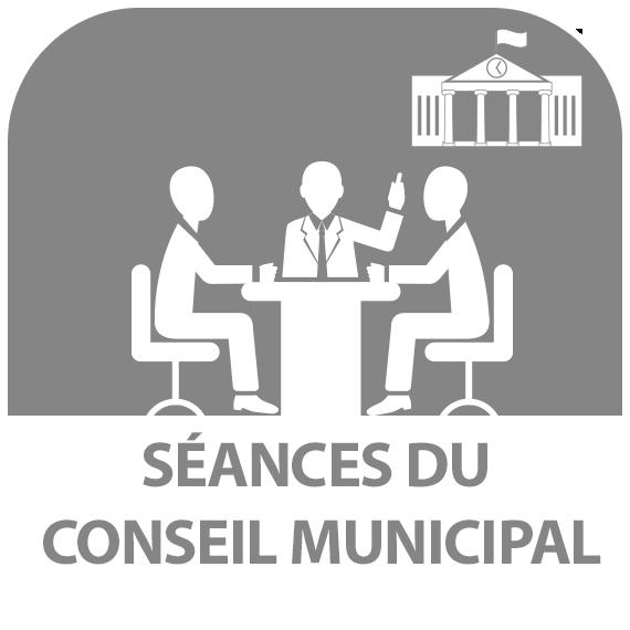 Icône : Séances du conseil municipal