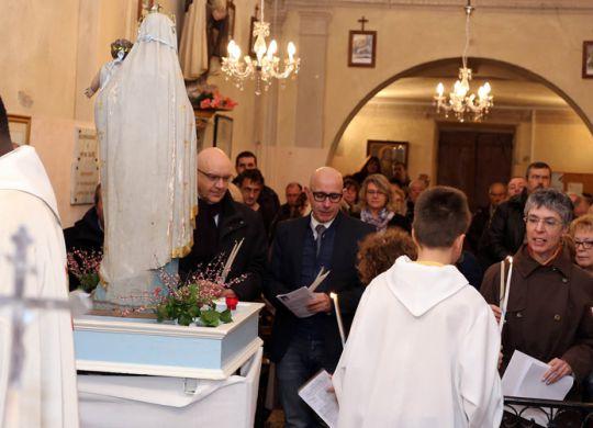 Messe de la Chandeleur à l'Abadie