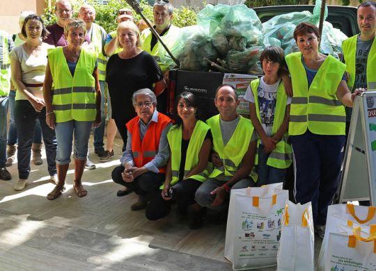 Opération propreté : les Saint-Andréens ayant participé à l' « opération propreté »