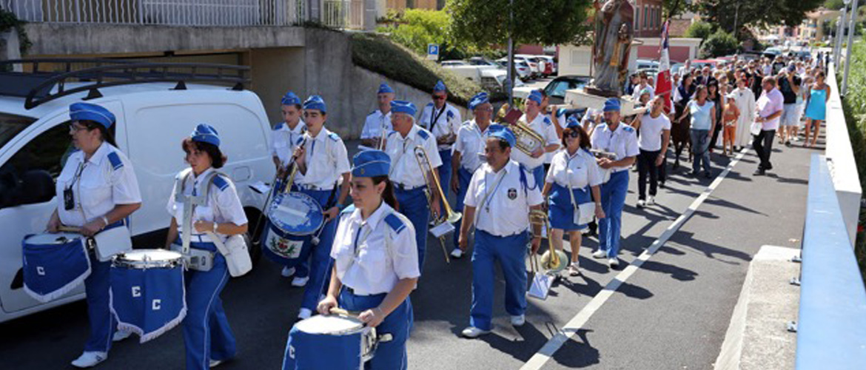 Festin de la Saint Grat : procession 2015