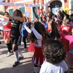 Les enfants s'éclatent au Carnaval