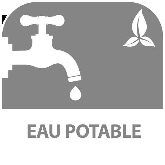 Icône : eau potable