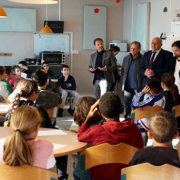 Le Parlement des enfants s'invite à l'école Félix Colomas