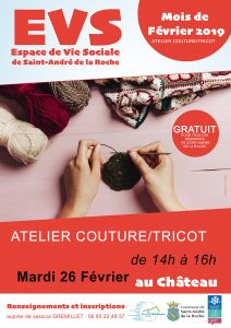 Atelier couture/tricot