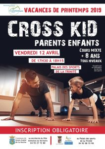 Inscriptions : Cross kid parents/enfants