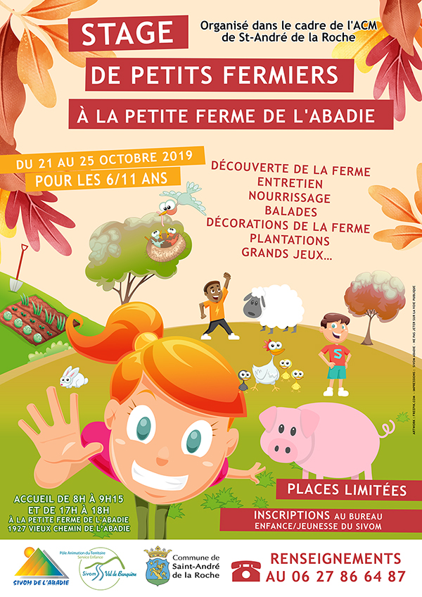 Stage Petits Fermiers